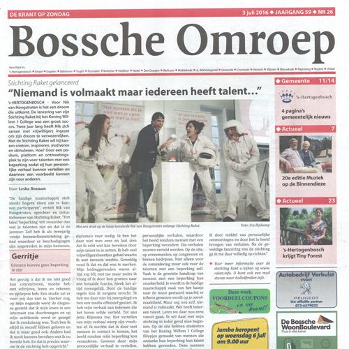 Bossche Omroep Raket Lancering